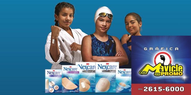 Nexcare lança uma campanha com o novo posicionamento   Guia da Farmácia   Imã de geladeira e Gráfica Mavicle Promo