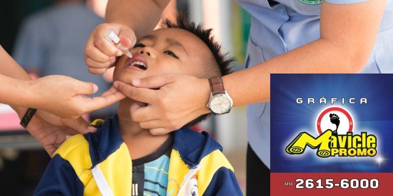 O Estado de São Paulo se antecipa a campanha de vacinação contra o sarampo e a poliomielite   Guia da Farmácia   Imã de geladeira e Gráfica Mavicle Promo