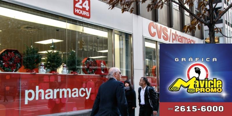 CVC Health aposta em serviços farmacêuticos   Guia da Farmácia   Imã de geladeira e Gráfica Mavicle Promo
