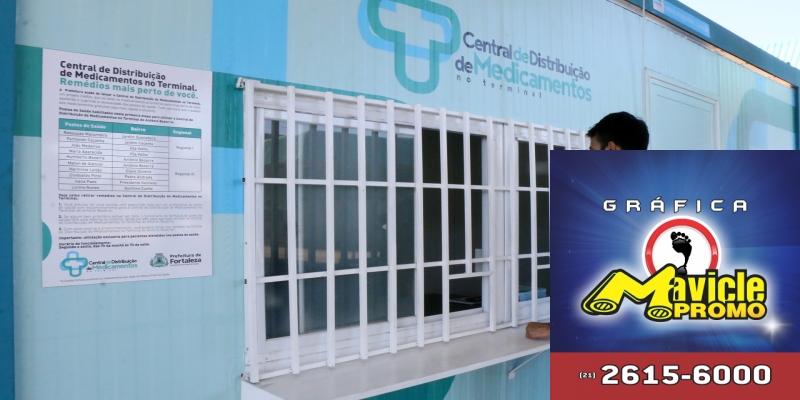 Em um ano, farmácias nos terminais servem a mais de 47 mil pacientes em Fortaleza