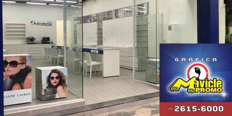 Sidney Oliveira investe nas Óticas Ultrafarma   Guia da Farmácia   Imã de geladeira e Gráfica Mavicle Promo