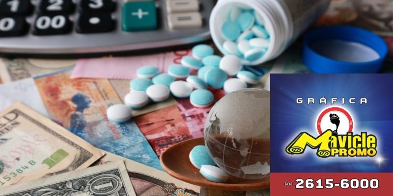 Imposto sobre medicamentos: o Brasil lidera o ranking do Guia da Farmácia   Imã de geladeira e Gráfica Mavicle Promo