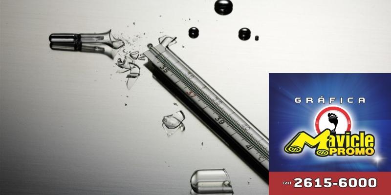 É proibido o uso de mercúrio em produtos para a saúde   Guia da Farmácia   Imã de geladeira e Gráfica Mavicle Promo