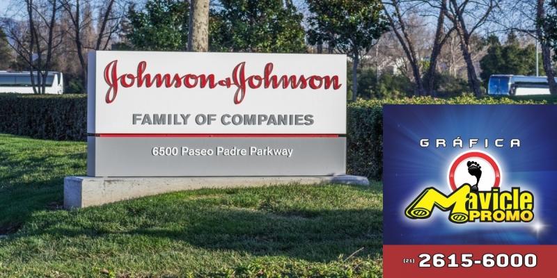 Vendas mundiais de Johnson & Johnson cresce 6,7% em 2018   Imã de geladeira e Gráfica Mavicle Promo
