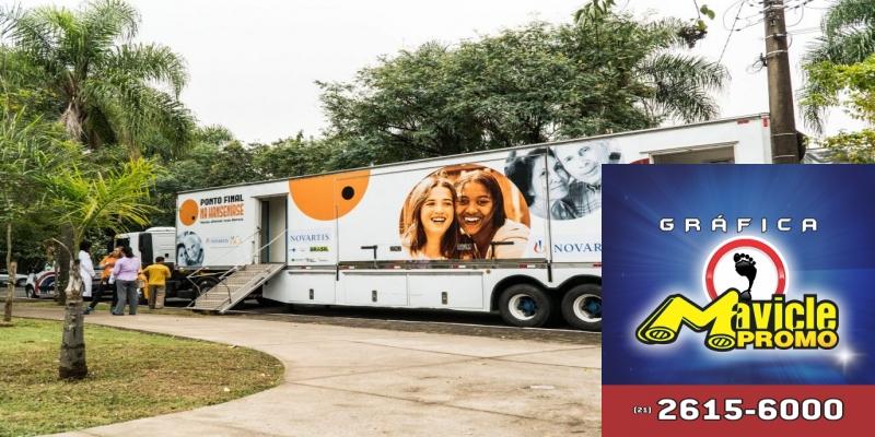 O trailer, a Novartis Saúde chega ao MS para a luta contra a lepra