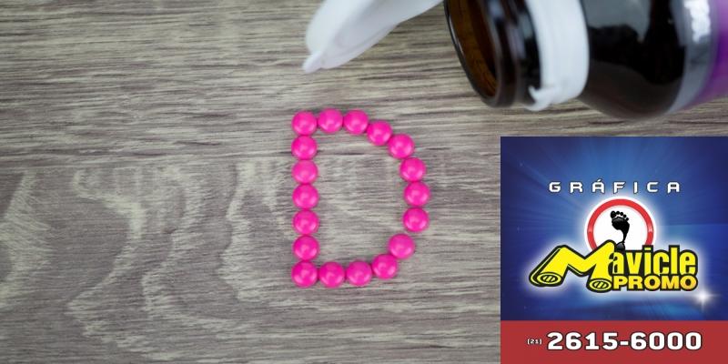 Estudo internacional aponta novos benefícios da vitamina D   Imã de geladeira e Gráfica Mavicle Promo