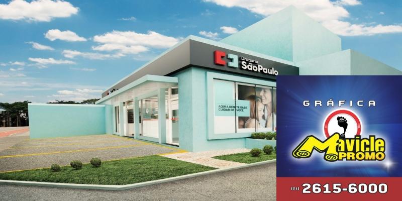 Farmácias São Paulo apoia o musical Sunset Boulevard   Guia da Farmácia   Imã de geladeira e Gráfica Mavicle Promo