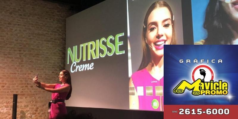Garnier Nutrisse lança aplicativo Garnier Cor Match   Guia da Farmácia   Imã de geladeira e Gráfica Mavicle Promo
