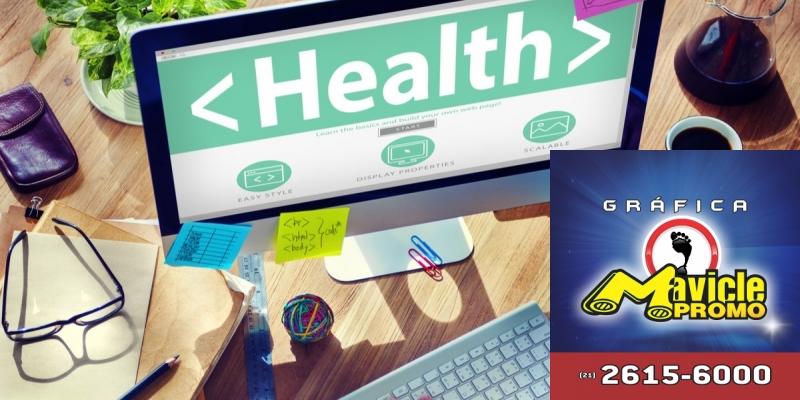 Projeto obriga aviso de informação sobre saúde na internet   Imã de geladeira e Gráfica Mavicle Promo