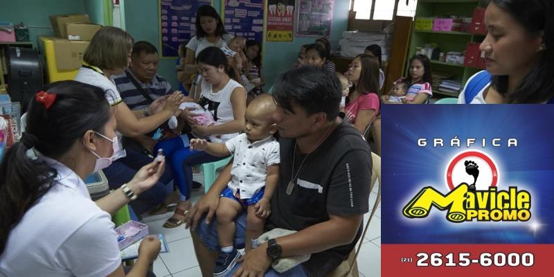 20 milhões de crianças em todo o mundo não recebem a vacina contra o sarampo