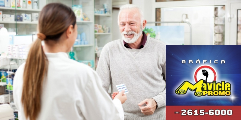 Aposentados podem ter 50% de desconto em medicamentos   Imã de geladeira e Gráfica Mavicle Promo