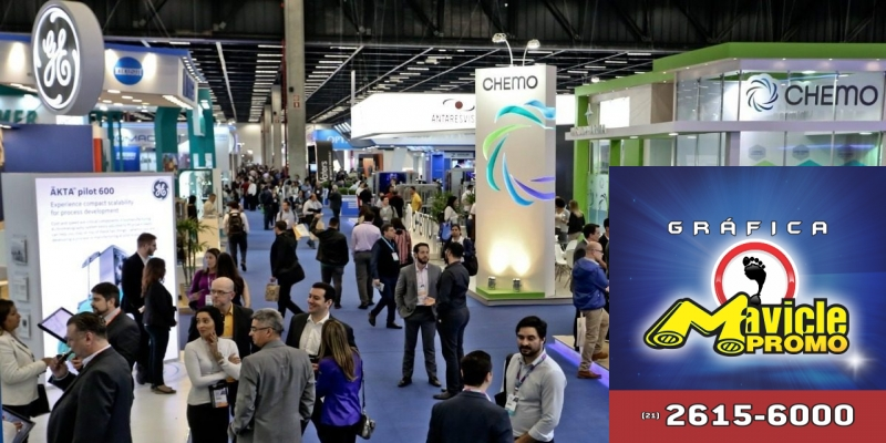 FCE Pharma mostrar a força das máquinas inteligentes no mercado farma   Imã de geladeira e Gráfica Mavicle Promo
