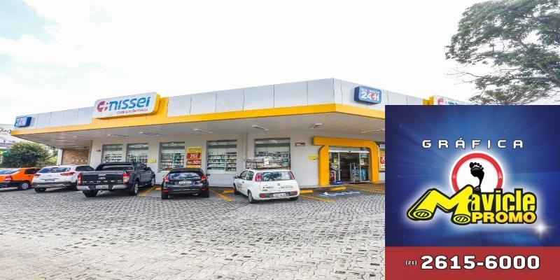 Nissei amplia a oferta de exames laboratoriais rápidos   Guia da Farmácia   Imã de geladeira e Gráfica Mavicle Promo