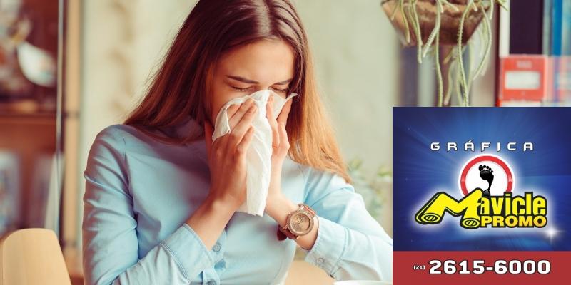 Vacinação contra a gripe começa hoje em todo o País   Guia da Farmácia   Imã de geladeira e Gráfica Mavicle Promo