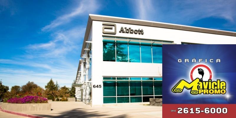Vendas mundiais de Abbott sobem no 1º trimestre, atingindo US$ 7,5 bi   Imã de geladeira e Gráfica Mavicle Promo