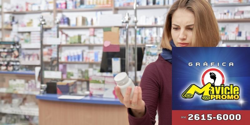 Pesquisa: 77% dos brasileiros têm o hábito da automedicação   Imã de geladeira e Gráfica Mavicle Promo