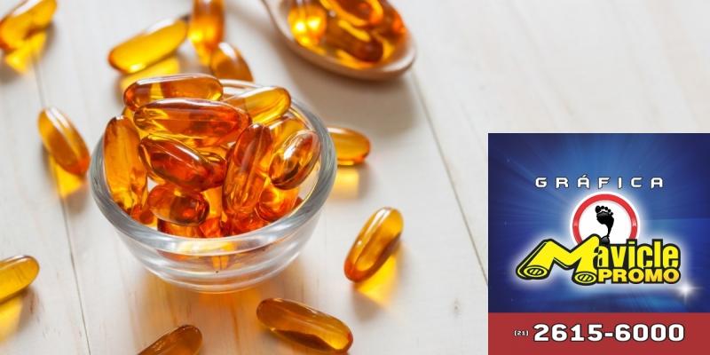 A Vitamina D aumenta a taxa de sobrevivência de pacientes com câncer   Imã de geladeira e Gráfica Mavicle Promo