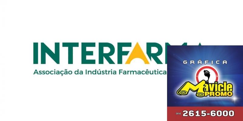 Interfarma muda e se interessou pelos preconceitos dos negócios, o Panorama Farmacêutico   Imã de geladeira e Gráfica Mavicle Promo